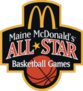 Maine McDonalds All Star Games Logo black